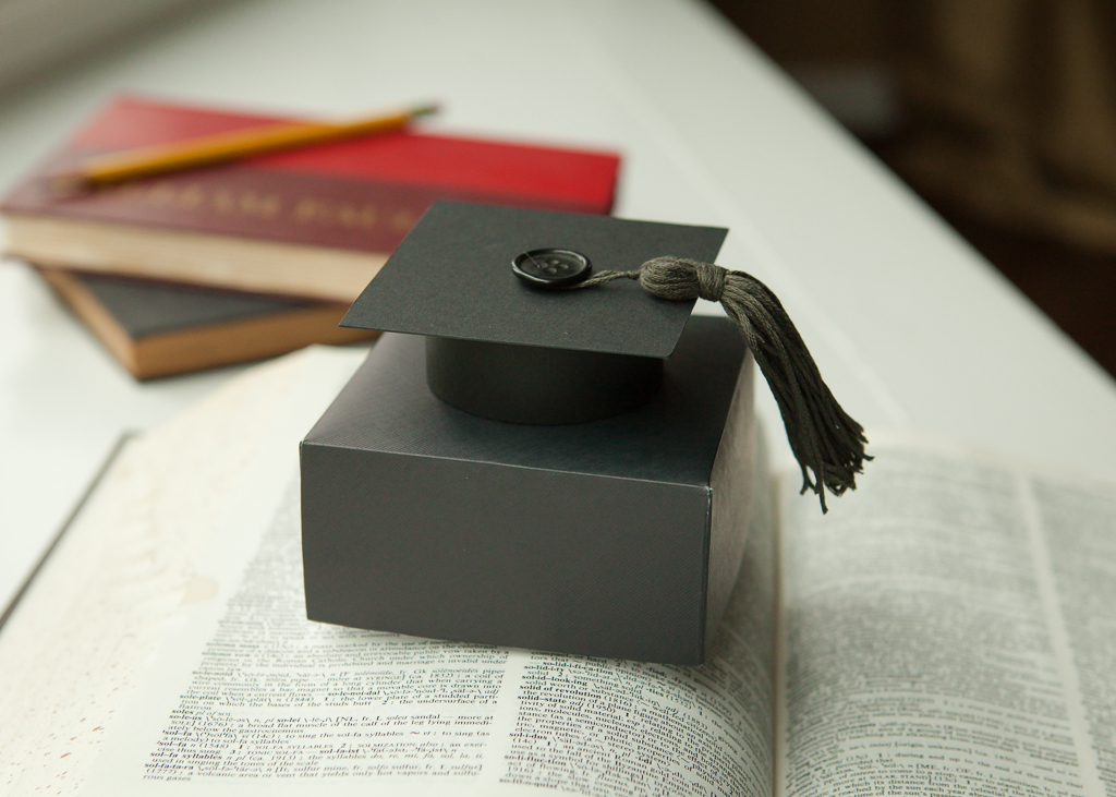 Graduation Gift Box - Black