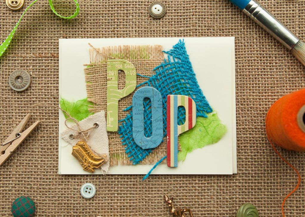 Letter Card - Pop