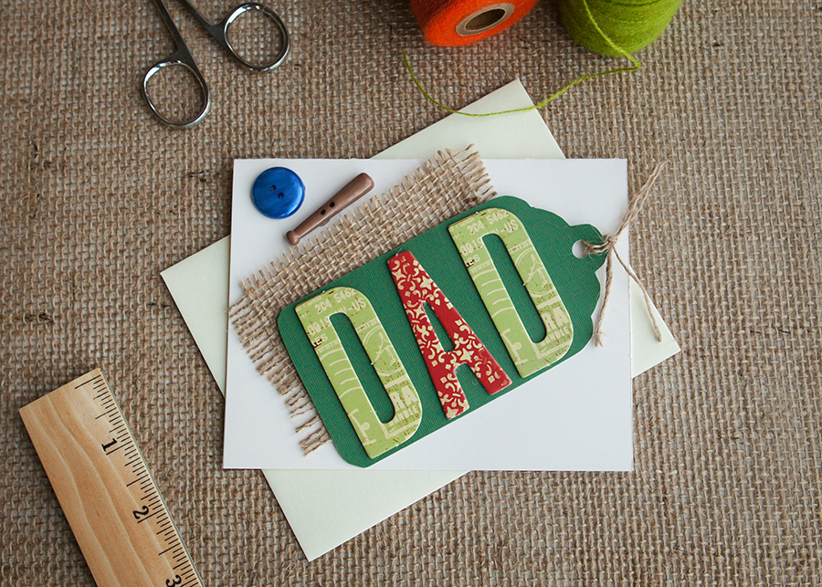 Letter Card - Dad