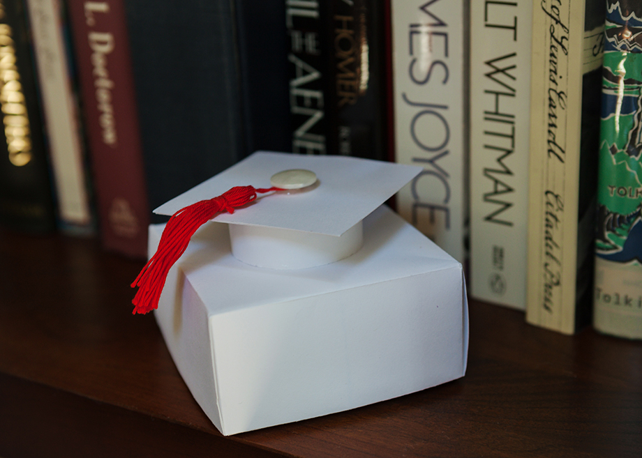 Graduation Gift Box - White