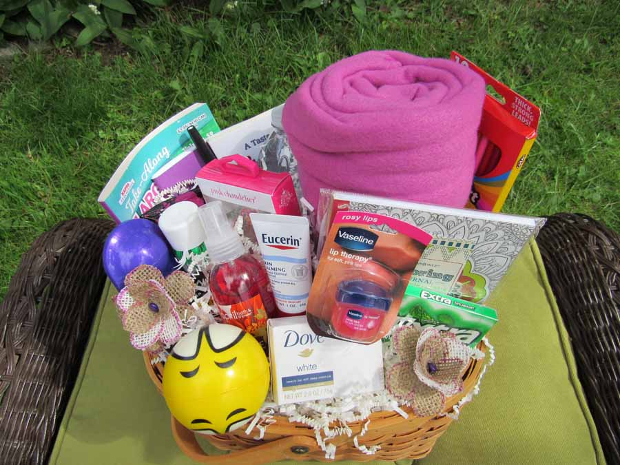 Hospital Get Well Basket - Female