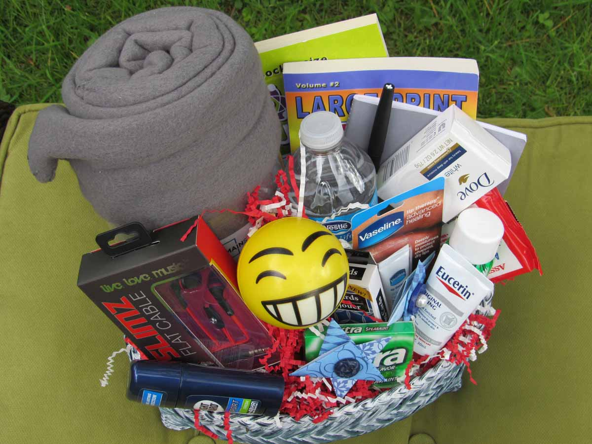 Hospital Get Well Basket - Male