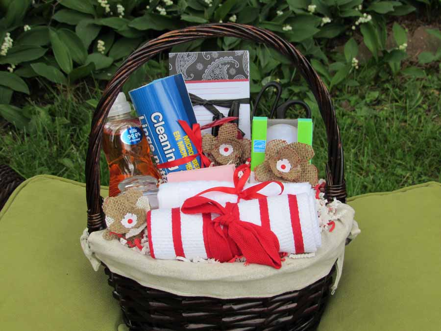 New Home Gift Basket - Small