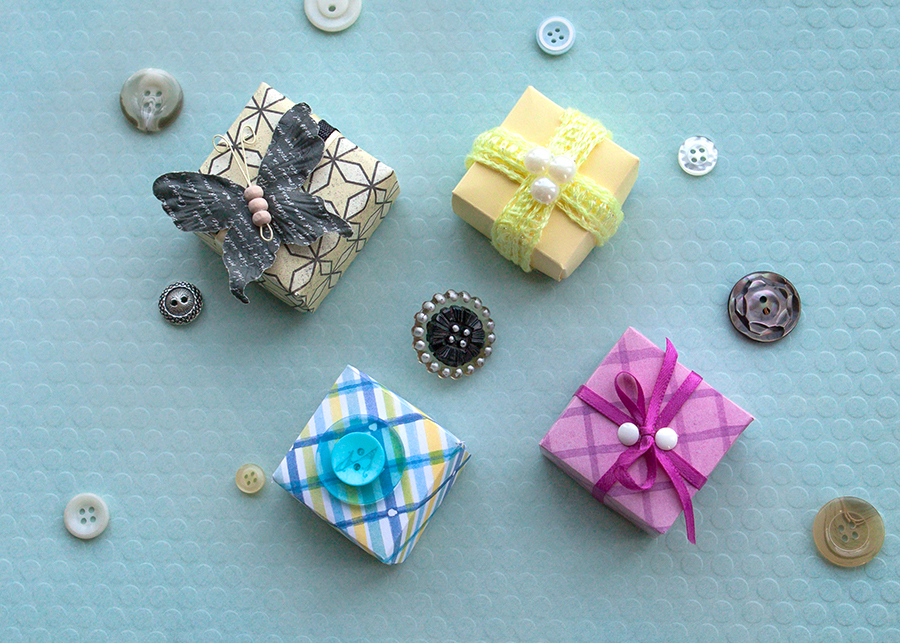 Assorted Miniature Gift Boxes - Small