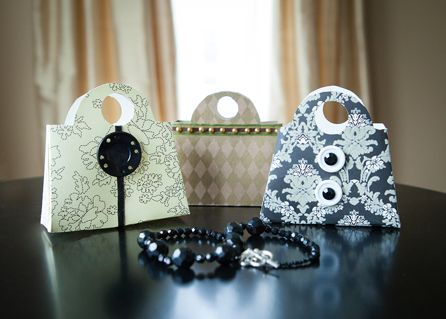 Assorted Purse-Shaped Gift Holders