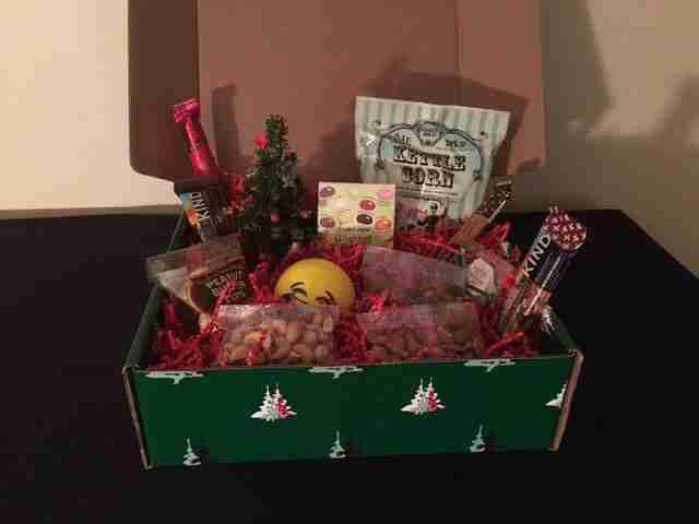 Christmas Box of Snacks